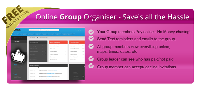 Online Group Organizer