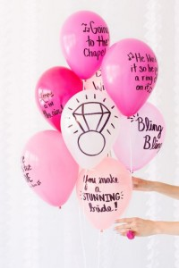 top tips for a cheap hen party - decorations