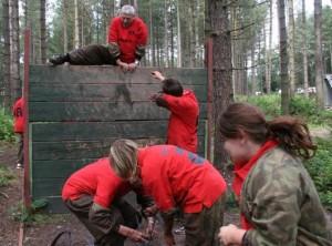 Assault course Wall